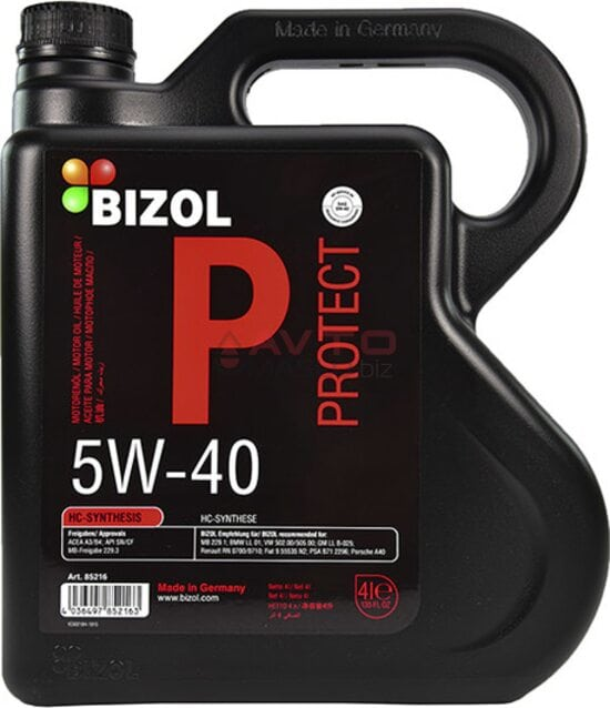Моторне масло Bizol Allround 5w40 20 л