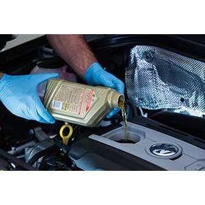 Перевірка якості масла в двигуні. Розглядаємо на прикладі моторного масла Volkswagen>