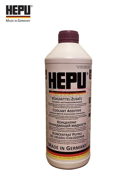Антіфріз- концентрат Hepu G12 plus