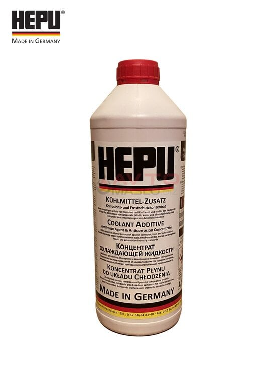 Антіфріз- концентрат Hepu G12 1.5л