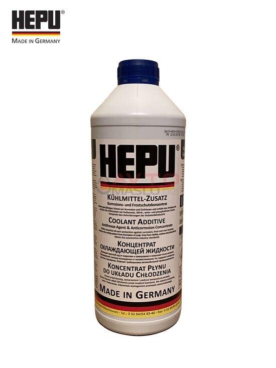 Антіфріз- концентрат Hepu (синій) 1.5 л