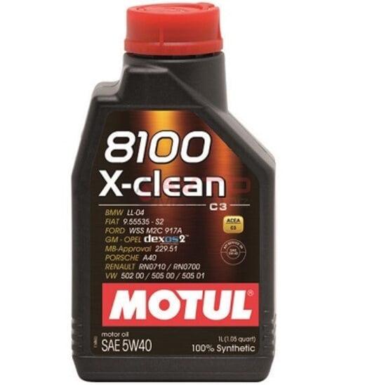 Масло моторное Motul 5w40 8100 x-clean