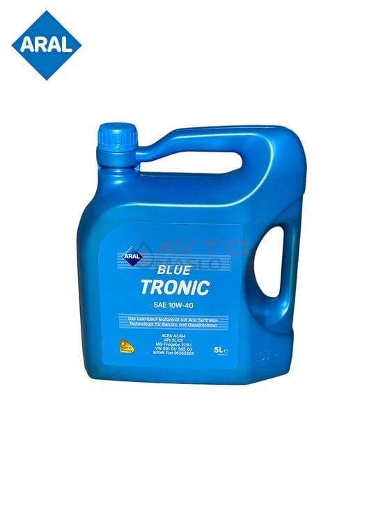 Масло моторное полусинтетическое Aral BlueTronic 10W-40 (5л)