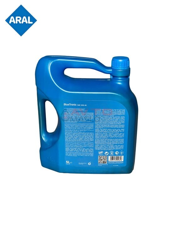 Мастило моторне напівсинтетичне Aral BlueTronic 10W-40 (5 л)
