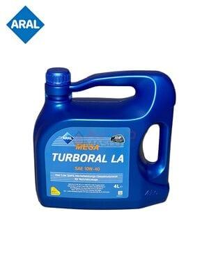 Моторное масло Aral Mega Turboral LA 10w-40 4л