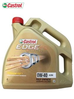 Моторное масло Castrol EDGE  FST 0w-40 4л