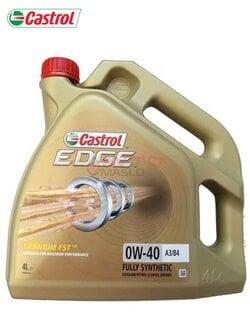 Моторное масло Castrol EDGE  FST 0w-40 4л