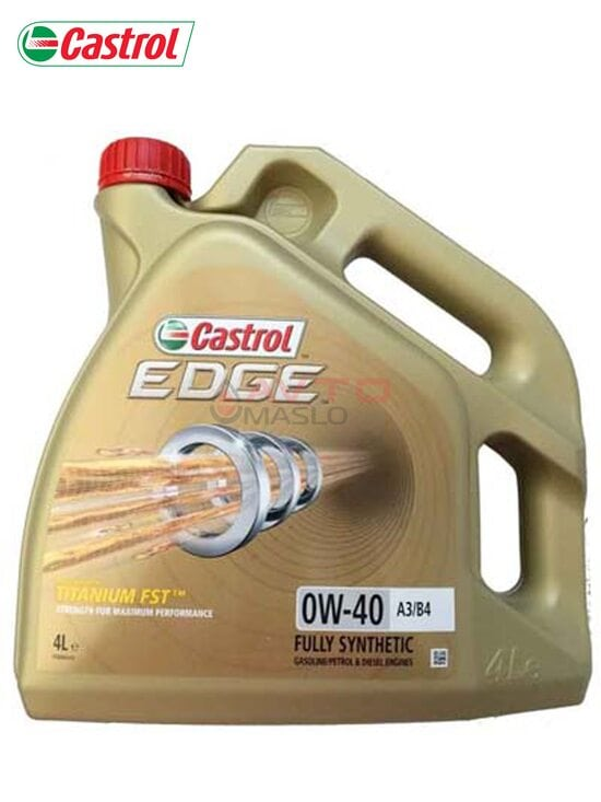 Моторне масло Castrol EDGE FST  0w-40 4л