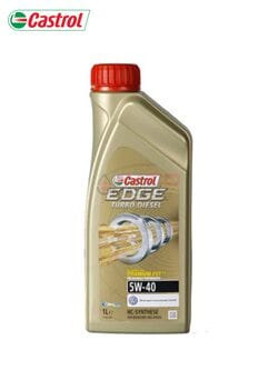 Моторне масло Castrol EDGE TURBO DIESEL 5w-40 1л