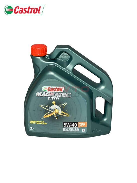 Моторное масло Castrol 5W-40 Magnatec Diesel DPF 4л