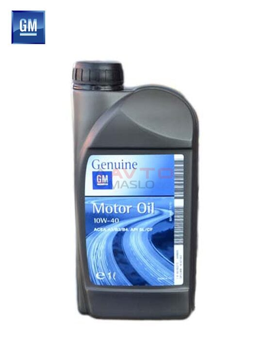 Моторное масло GM Motor Oil Semi Synthetik 10w-40 1л