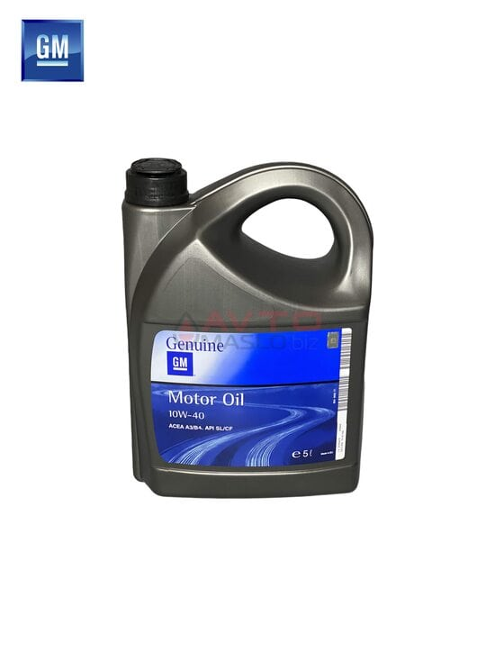 Моторне масло GM Genuine Semi Synthetic 10W40 - 5L
