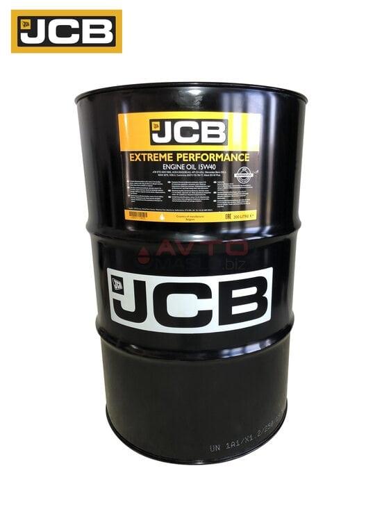 Моторное масло JCB Engine oil 15w-40 200л