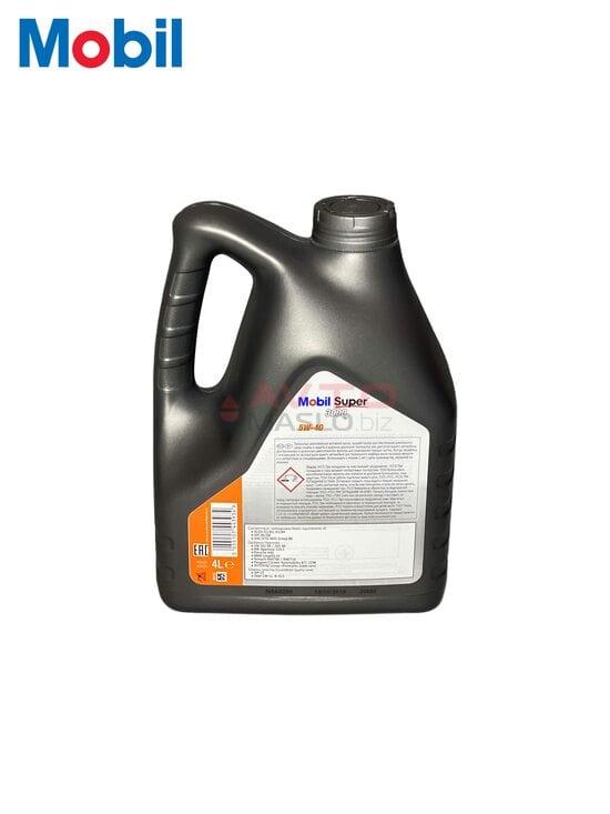Моторне масло Mobil 5w-40 Super 3000 4л