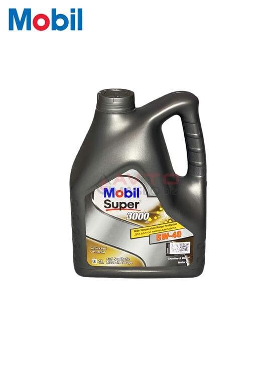 Моторное масло Mobil 5w-40 Super 3000 4л