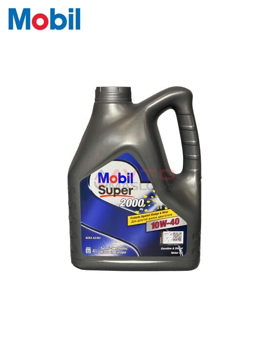 Моторне масло Mobil 10W-40 Super 2000 4л
