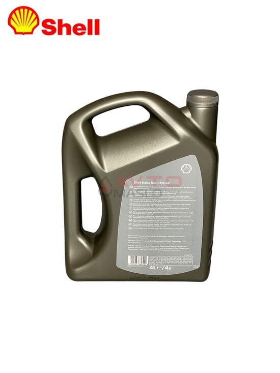 Моторне масло Shell Helix Ultra 5w40 4l