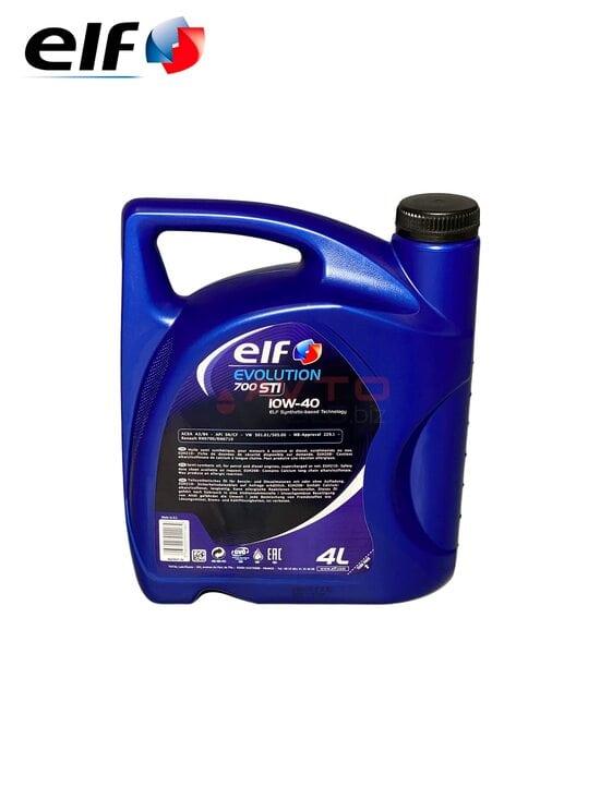 Масло моторное ELF 10w-40 Evol.700 STI 4л