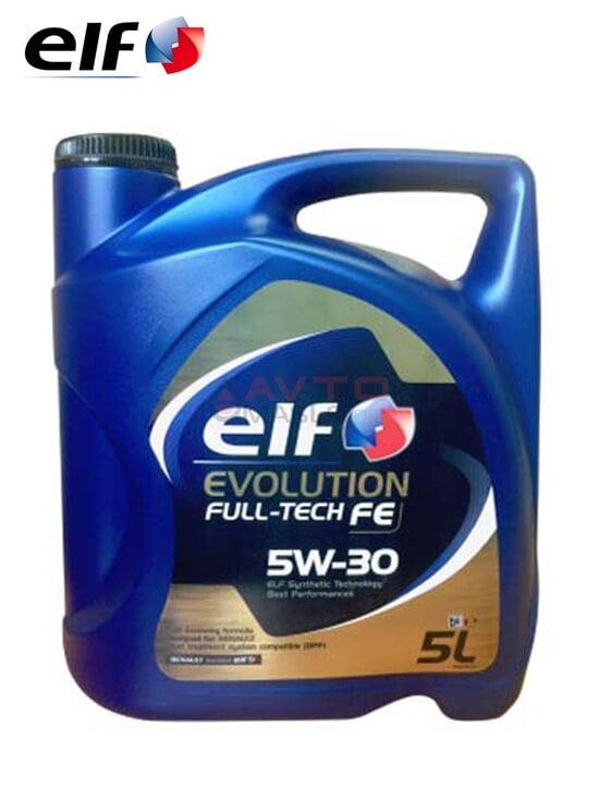 Моторное масло ELF EVOLUTION Full-tech fe 5W-30 5л