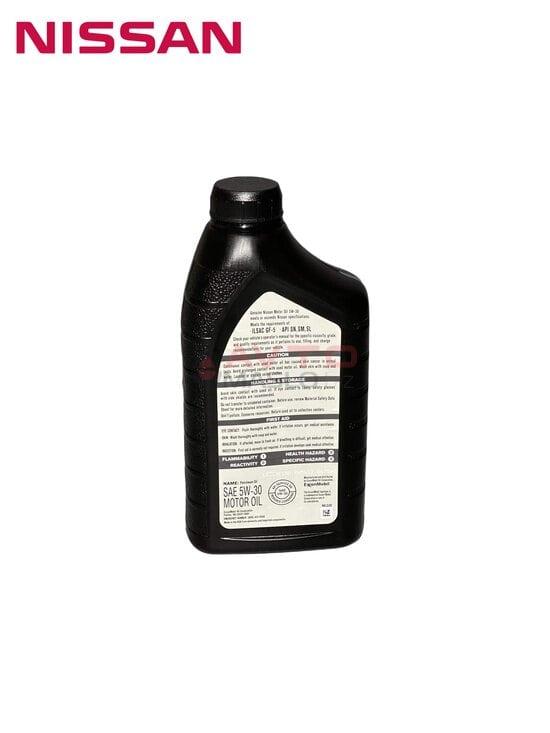 Моторное масло Nissan 5W-30 Motor Oil 0.946л