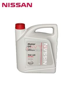 Масло моторне Nissan Motor Oil 5w-40 5л