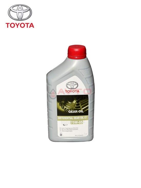 Трансмиссионное масло Toyota 75w-85 Gear OIL LT GL-5 1л
