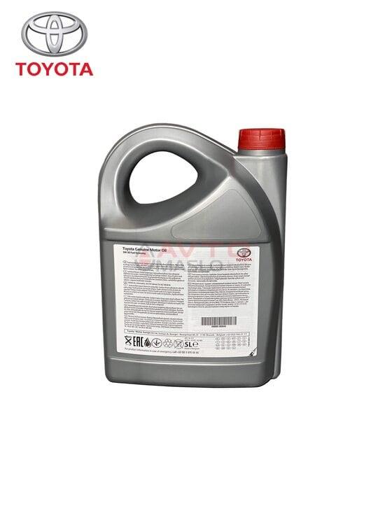 Масло моторное Toyota 5w30 Fuel Economy 5л